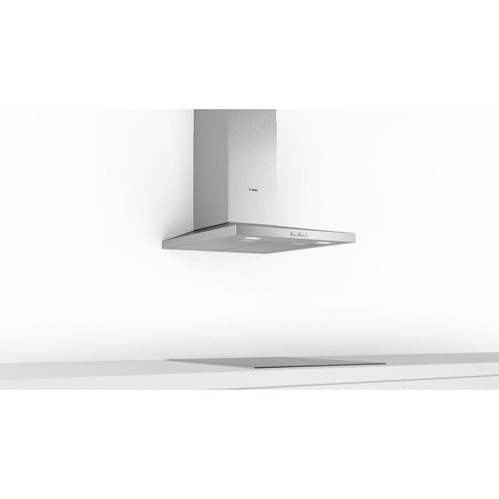 Bosch Serie 2 Slim Pyramid Chimney Hood - Brushed Steel Additional Image 3