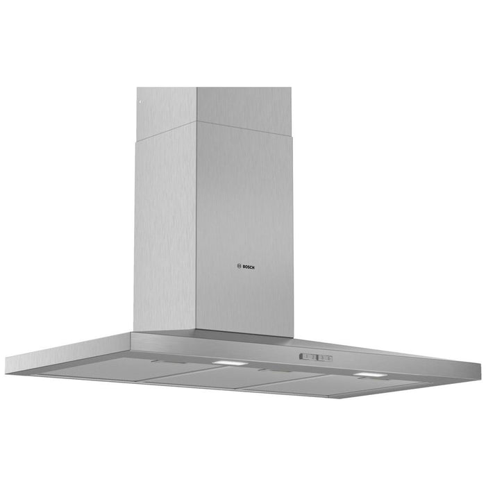 Bosch Serie 2 Slim Pyramid Chimney Hood - Brushed Steel Additional Image 1