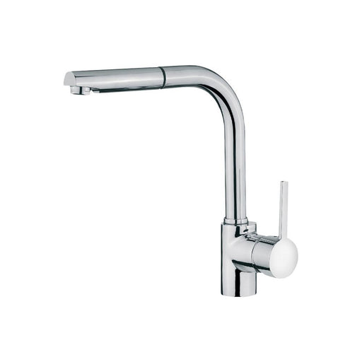 Teka ARK 938 Single Lever Mixer Tap with Pull-Out Spray - Chrome