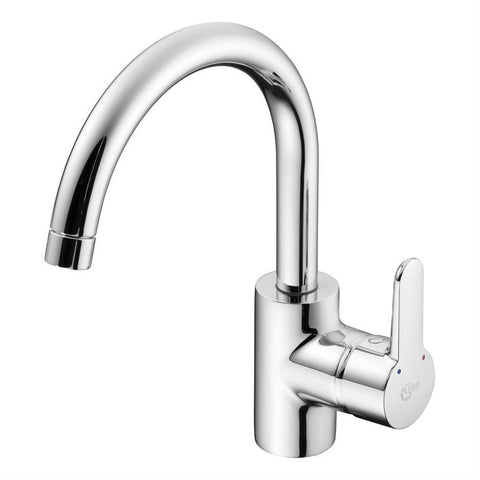 Ideal Standard Concept one hole kitchen mixer with tubular spout - Unbeatable Bathrooms