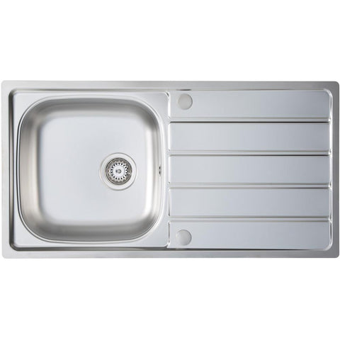 Kitchen Prima 1.0B 1D REV Stainless Steel Inset Sink-additional-image-1