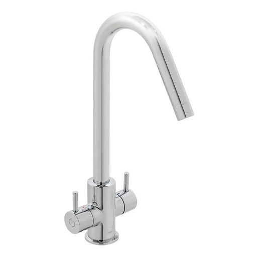 Vado Sky Deck Mounted Mono Sink Mixer with Swivel Spout - Unbeatable Bathrooms