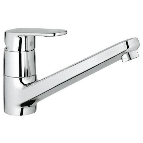 Grohe Europlus 1/2 Inch Single Lever Sink Mixer Ergonomic Design - Unbeatable Bathrooms