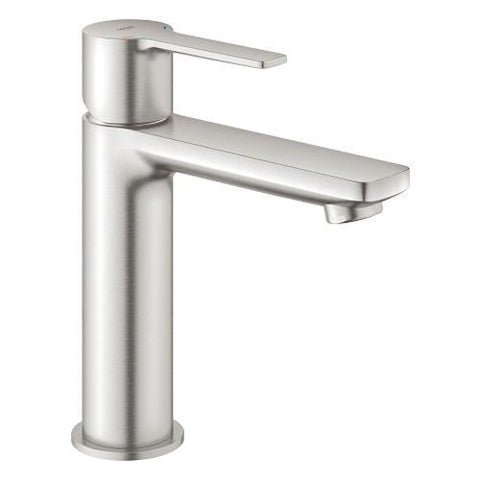Grohe Lineare 1/2 Inch Small Size Basin Mixer with Crisp Rectangular Handle - Unbeatable Bathrooms