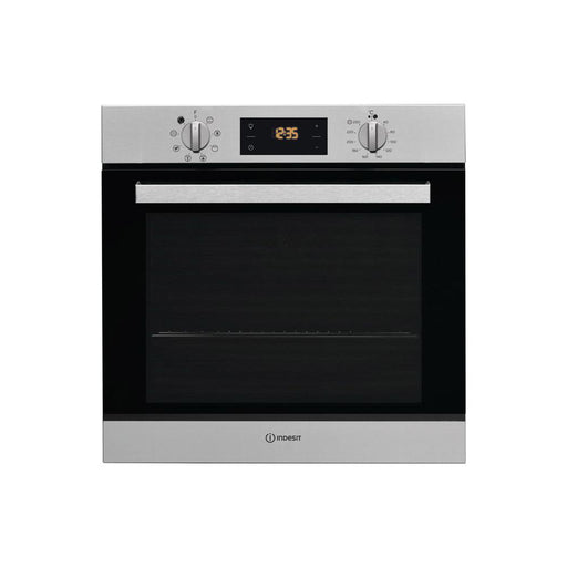 Indesit IFW 6540 P IX B/I Single Pyrolytic Oven - Stainless  Steel