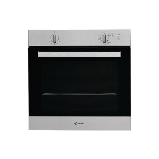 Indesit IGW 620 IX UK B/I Single Gas Oven - Stainless  Steel