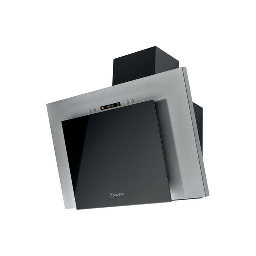 Indesit IHVP 6.4 LL K 60cm Chimney Hood - Black