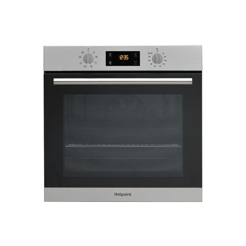 Hotpoint Built In Single Electric Oven - Stainless Steel