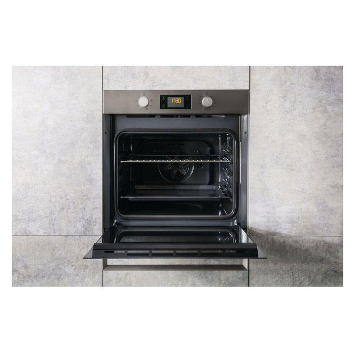 Hotpoint SA3 540 H IX Built In Single Electric Oven - Stainless Steel-additional-image-2