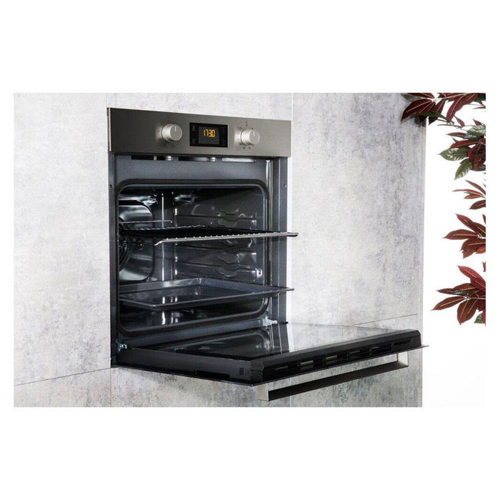 Hotpoint SA3 540 H IX Built In Single Electric Oven - Stainless Steel-additional-image-3