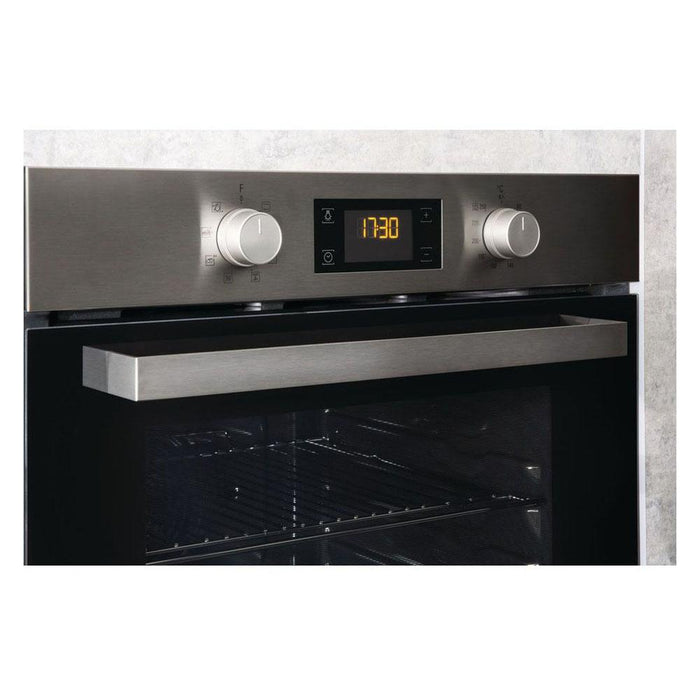 Hotpoint SA3 540 H IX Built In Single Electric Oven - Stainless Steel-additional-image-4