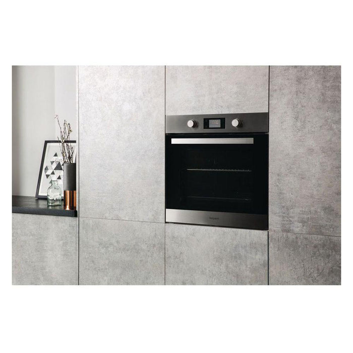 Hotpoint SA3 540 H IX Built In Single Electric Oven - Stainless Steel-additional-image-6