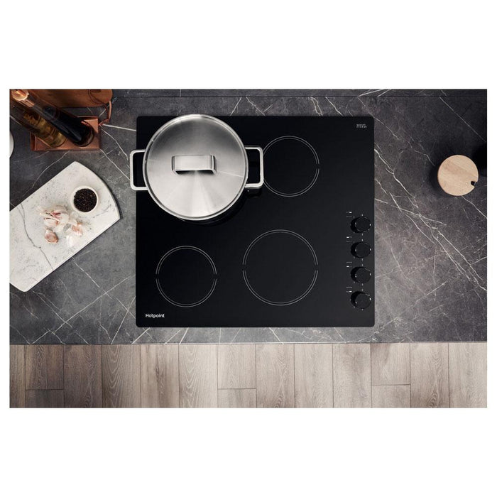 Hotpoint HR 619 CH 60cm Ceramic Hob - Black-additional-image-5