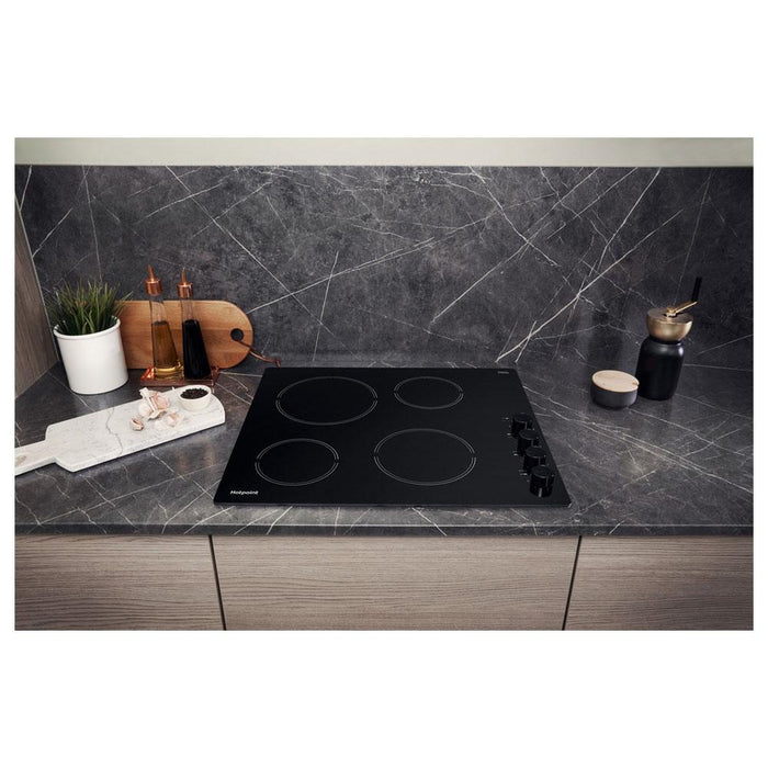 Hotpoint HR 619 CH 60cm Ceramic Hob - Black-additional-image-7
