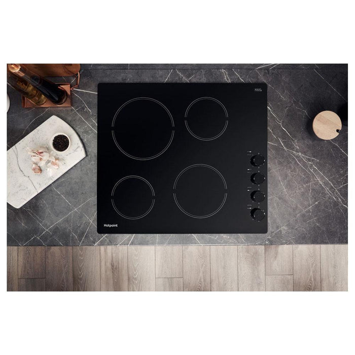 Hotpoint HR 619 CH 60cm Ceramic Hob - Black-additional-image-8
