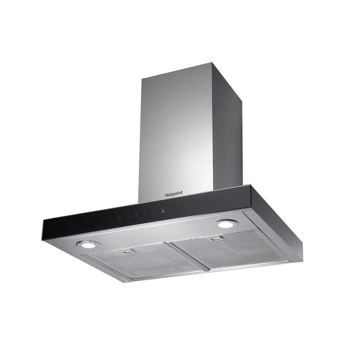 Hotpoint PHBS6.8FLTIX 60cm Box Chimney Hood - Stainless Steel-additional-image-1