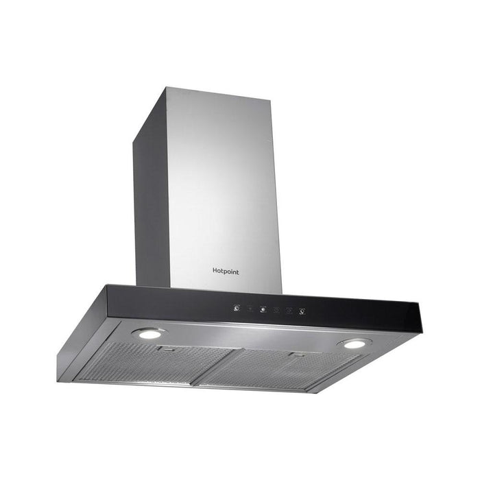 Hotpoint PHBS6.8FLTIX 60cm Box Chimney Hood - Stainless Steel-additional-image-2