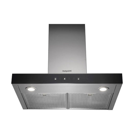 Hotpoint PHBS6.8FLTIX 60cm Box Chimney Hood - Stainless Steel