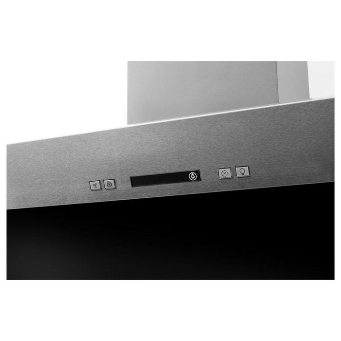 Hotpoint PHVP 6.4F AL K/1 60cm Angled Chimney Hood - Black Glass-additional-image-7