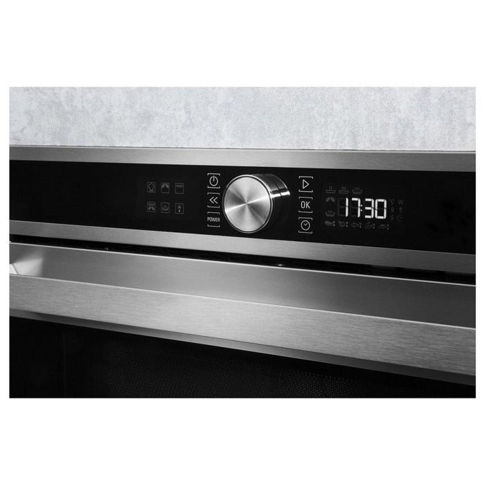 Hotpoint MD 554 IX H Built In Microwave & Grill - Stainless Steel-additional-image-2