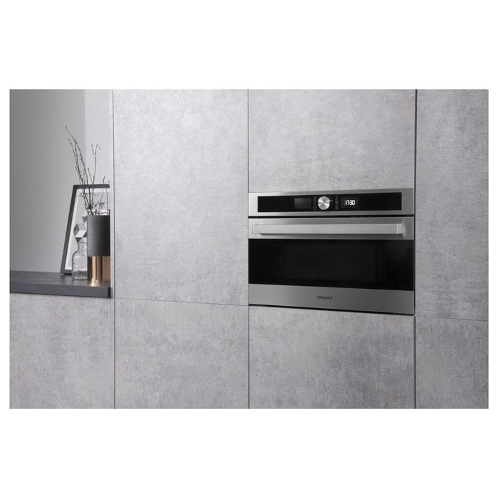Hotpoint MD 554 IX H Built In Microwave & Grill - Stainless Steel-additional-image-6