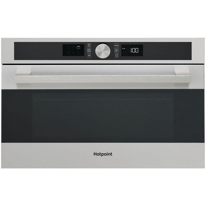 Hotpoint MD 554 IX H Built In Microwave & Grill - Stainless Steel