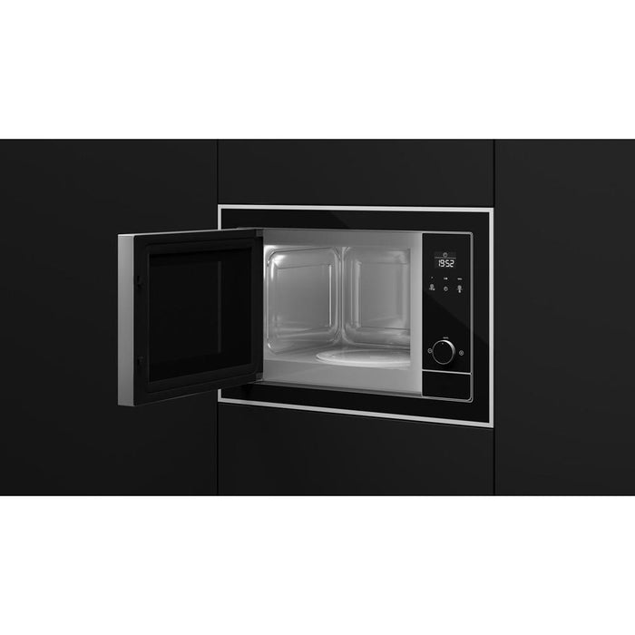 Teka ML Built In Microwave & Grill - Black & Stainless Steel Additional Image 1