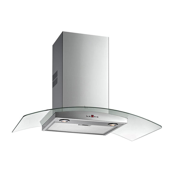 Teka Curved Glass Chimney Hood- Stainless Steel