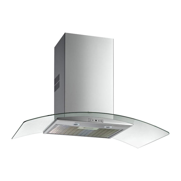 Teka Curved Glass Chimney Hood - Stainless Steel Additional Image 1