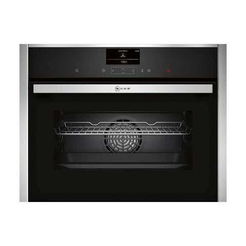 Neff N90 C27CS22H0B Built In Compact Pyrolytic Oven - Stainless Steel