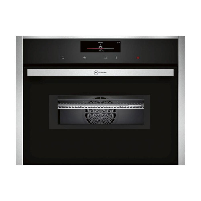 Neff N90 C28MT27H0B Built In Compact Pyrolytic Oven & Microwave - Stainless Steel
