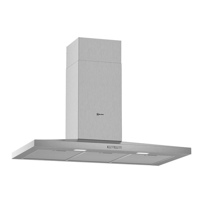 Neff N30 Slim Pyramid Chimney Hood - Stainless Steel Additional Image 1