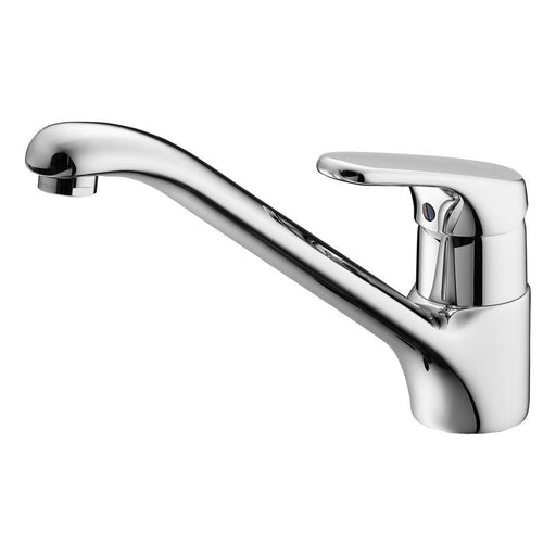 Armitage Shanks Sandringham Sink Mixer 1 Hole, Lever Operated with Single Flow Swivel Spout - Unbeatable Bathrooms
