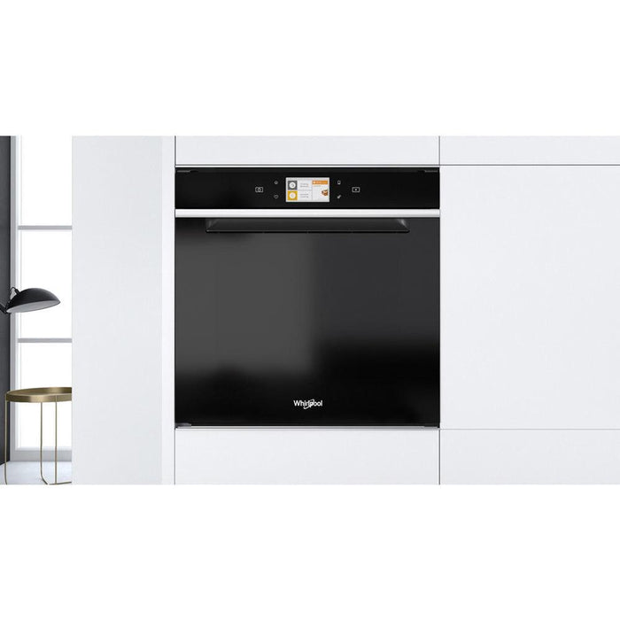 Whirlpool W11I OM1 4MS2 H B/I Single Electric Oven - Black Additional Image 2