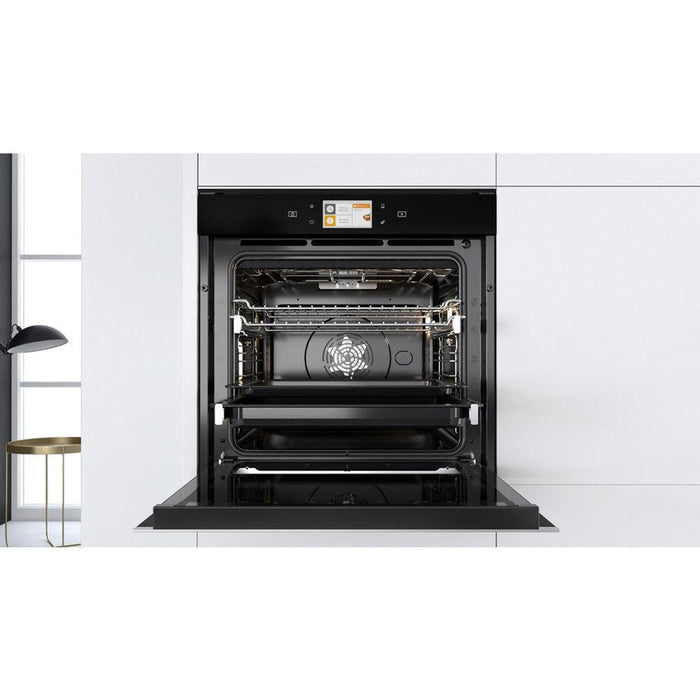 Whirlpool W11I OM1 4MS2 H B/I Single Electric Oven - Black Additional Image 3