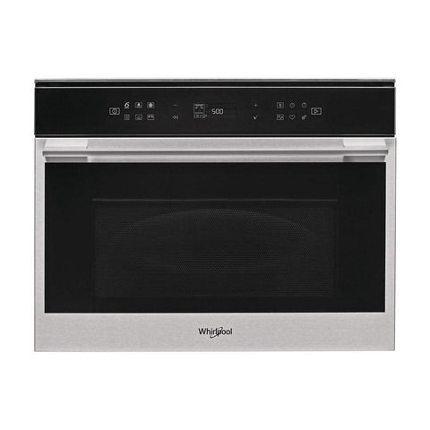 Whirlpool W7 MW461 UK B/I Combi Microwave & Oven - Stainless Steel