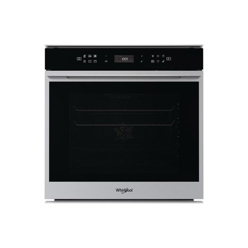 Whirlpool W7 OM4 4S1 P B/I Single Pyrolytic Oven - Black & Stainless Steel