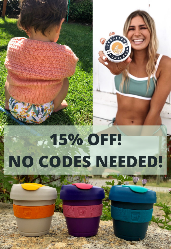 15% OFF Spring Clean Out Sale!