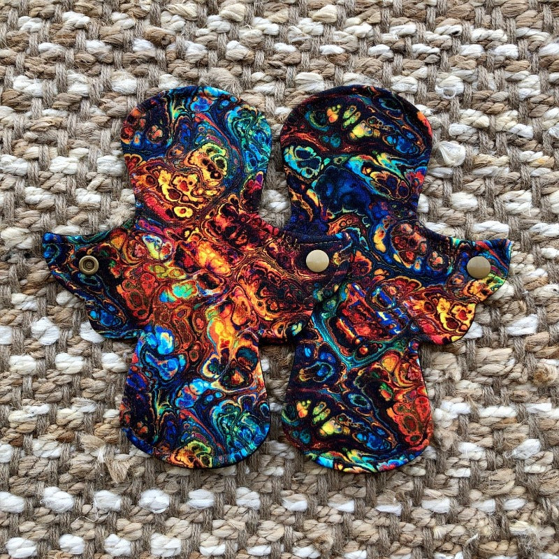 "8 Inch Light, Cotton Lycra Cloth Pad ""Lava Lake"""