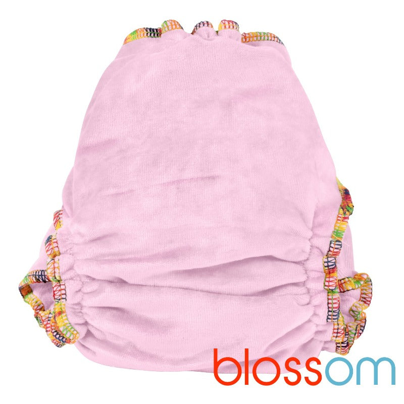 "Bamboo Delight Fitted Nappy (3kg-15kg) ""Blossom"""
