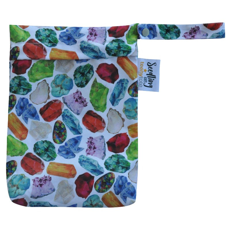 "Teeny Tote Reusable Wetbag ""Birthstone"""