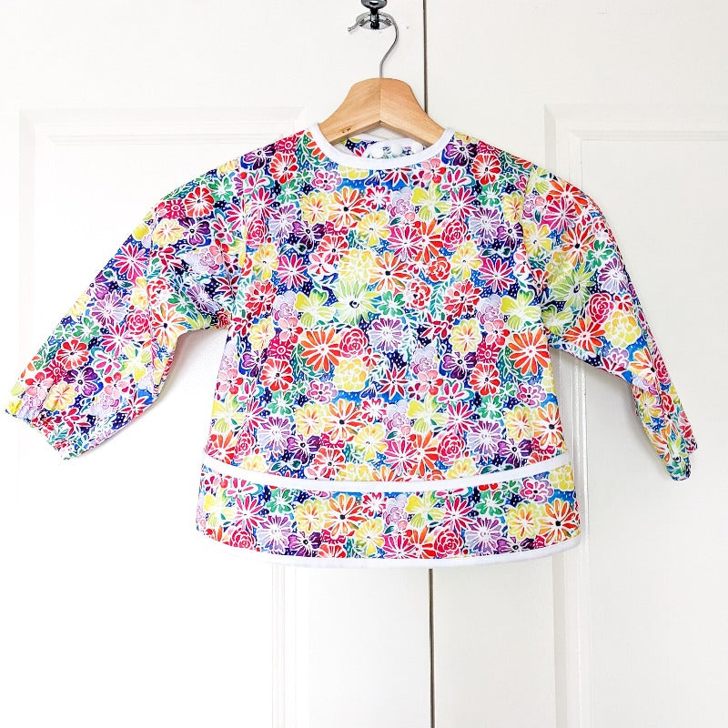 "Baby Bare Smock Size Small (6-18 Months) ""In Bloom"""