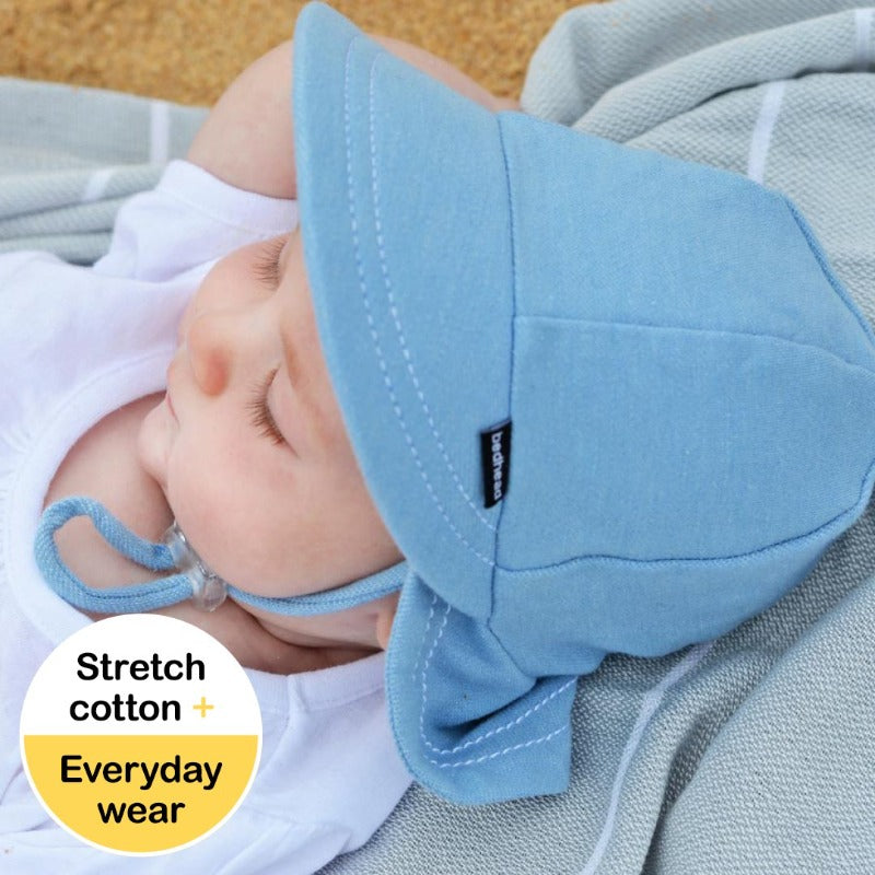 "Legionnaire Hat  (XS/3-6 months) ""Chambray"""