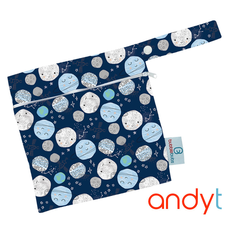 "Mini Wetbag ""Andy T"" PUL"
