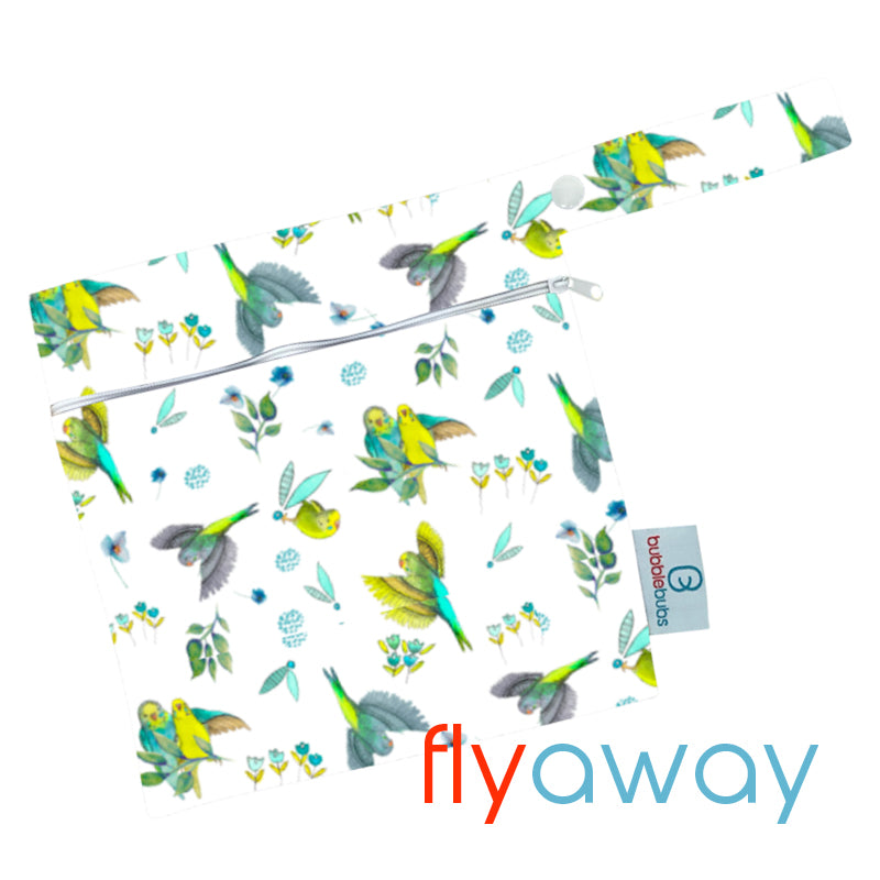 "Mini Wetbag ""Fly Away"" PUL"