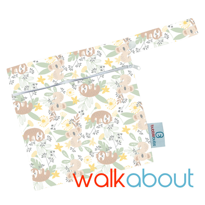 "Mini Wetbag ""Walkabout"" Minky"