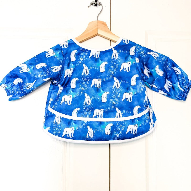 "Baby Bare Smock Size Large (18-36 Months) ""Snow Bears"""