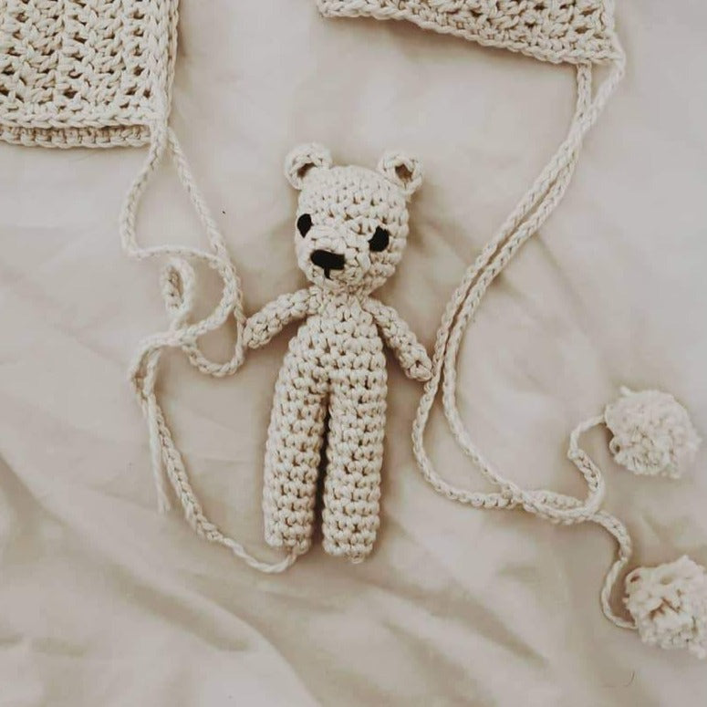 "Teddy Toy ""Beary White"""