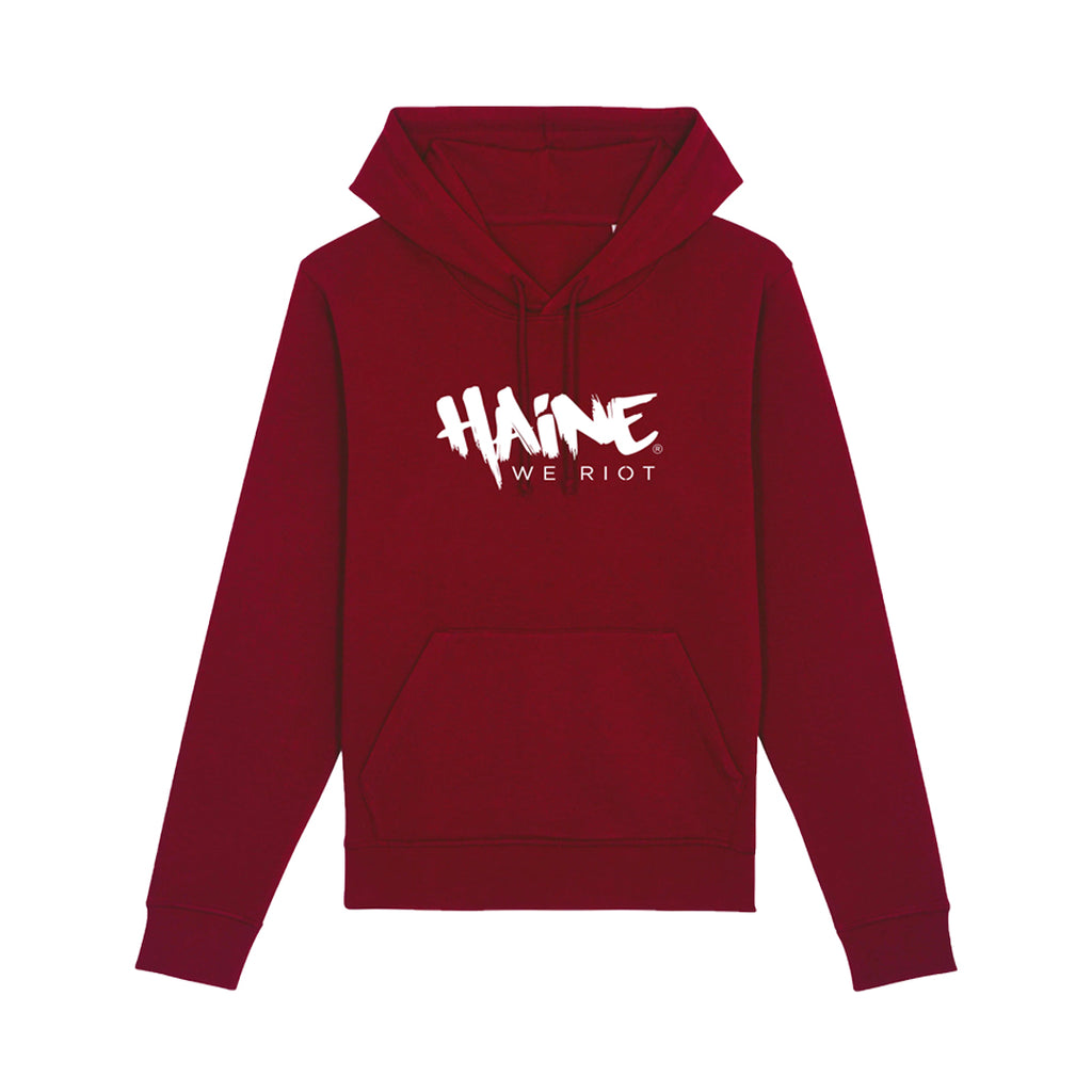 Classic Haine We Riot Hoodie | Edroppit