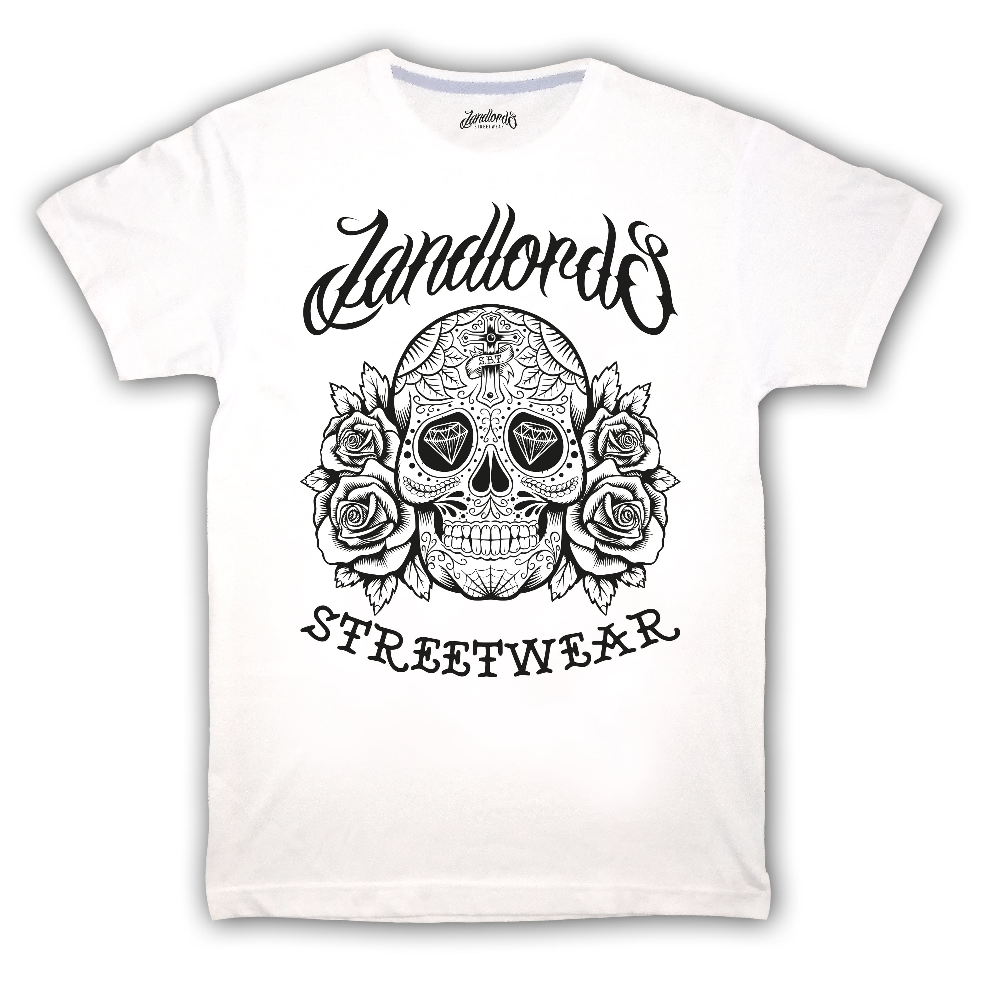 T-Shirt Mexican Skull Landlords | Edroppit